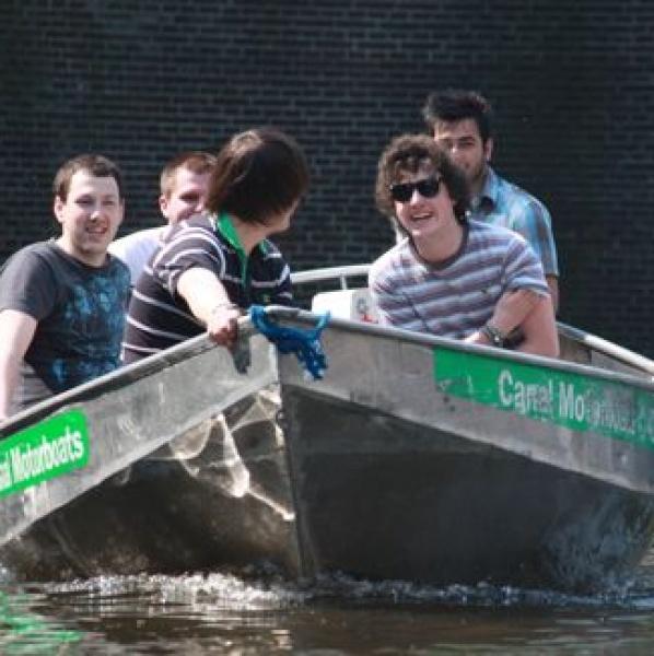 Electroboat huren Amsterdam