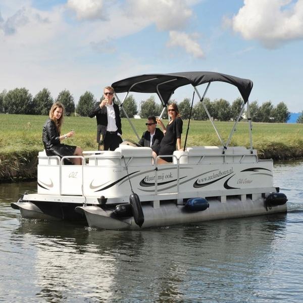 Pontonboot 10p. huren Middelburg