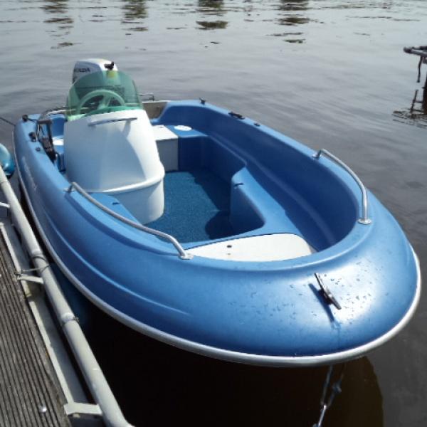 Consoleboot 5p. huren Middelburg
