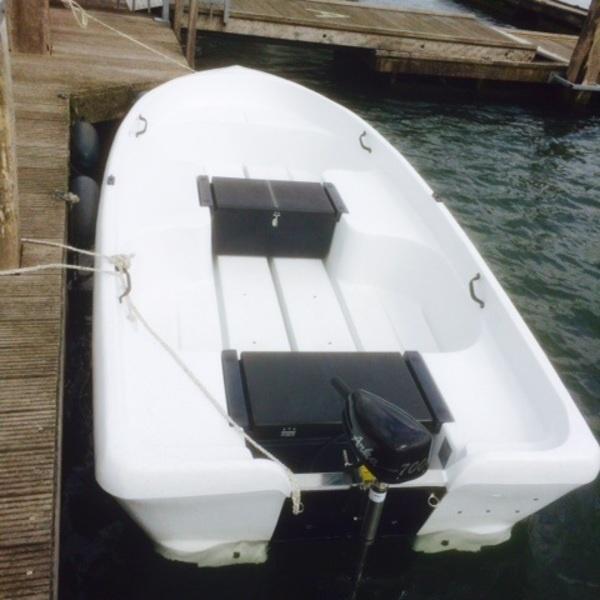 Pioner 15 elektroboot huren IJsselstein